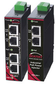 Industrial Power over Ethernet PoE Injectors