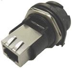 EB-RJF-BLKHD-1 (IP67 bulk-head connector)