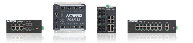 N-Tron 700 Series Managed Switches