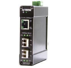 1003GX2 Gigabit Industrial Ethernet Switch, LC 550m