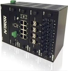 NT24K™-DR24-AC Modular Managed Industrial Ethernet Switch, AC