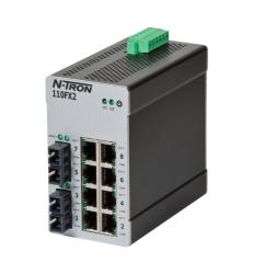 110FX2 Unmanaged Industrial Ethernet Switch, SC 2km